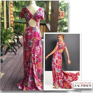 Zac Posen for Target Floral Print Gown Maxi size 2